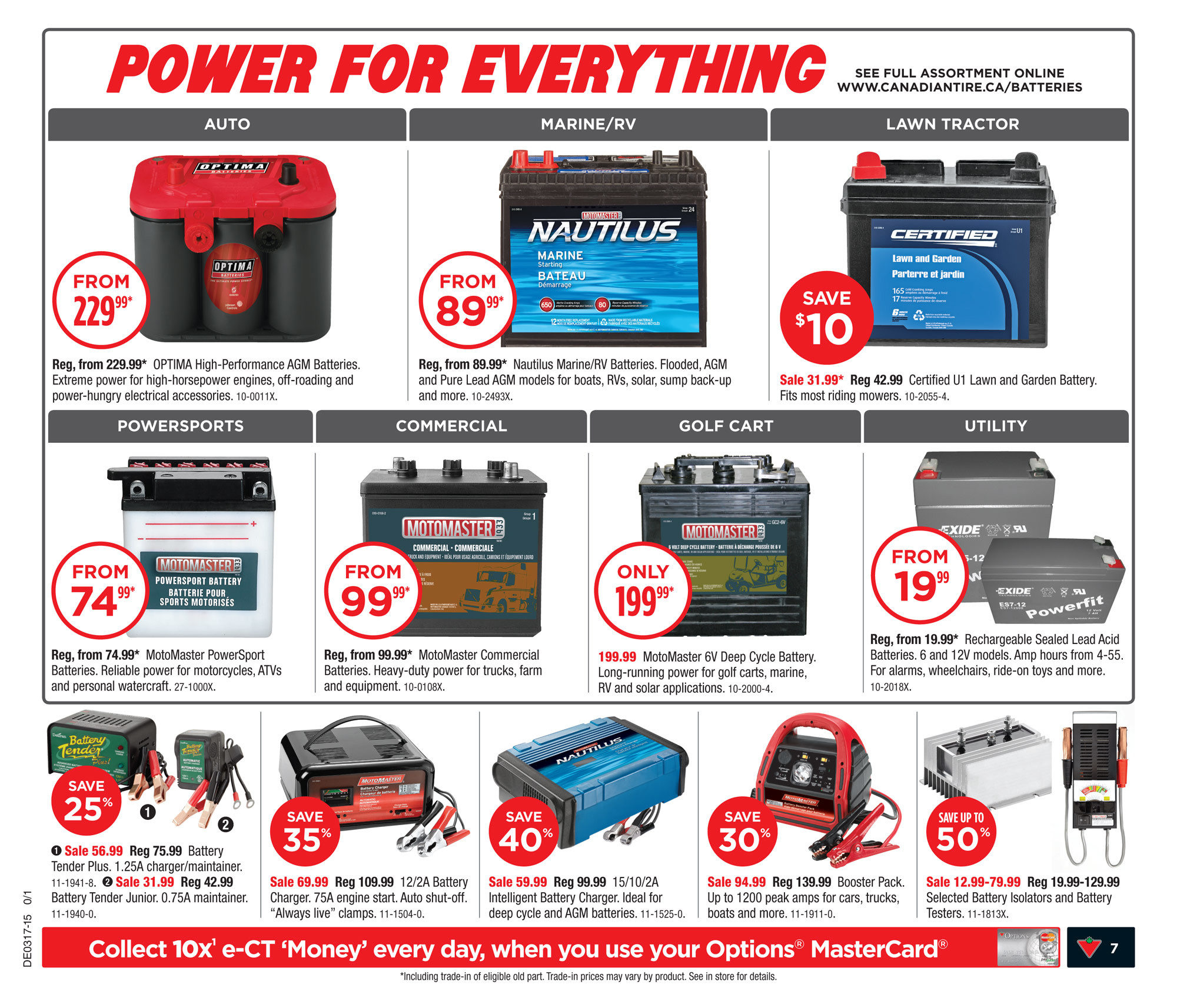 Canadian Tire Weekly Flyer Apr 24 30 Club Open Roads Forum Why Should I Switch To Golf Cart 6v Batteries