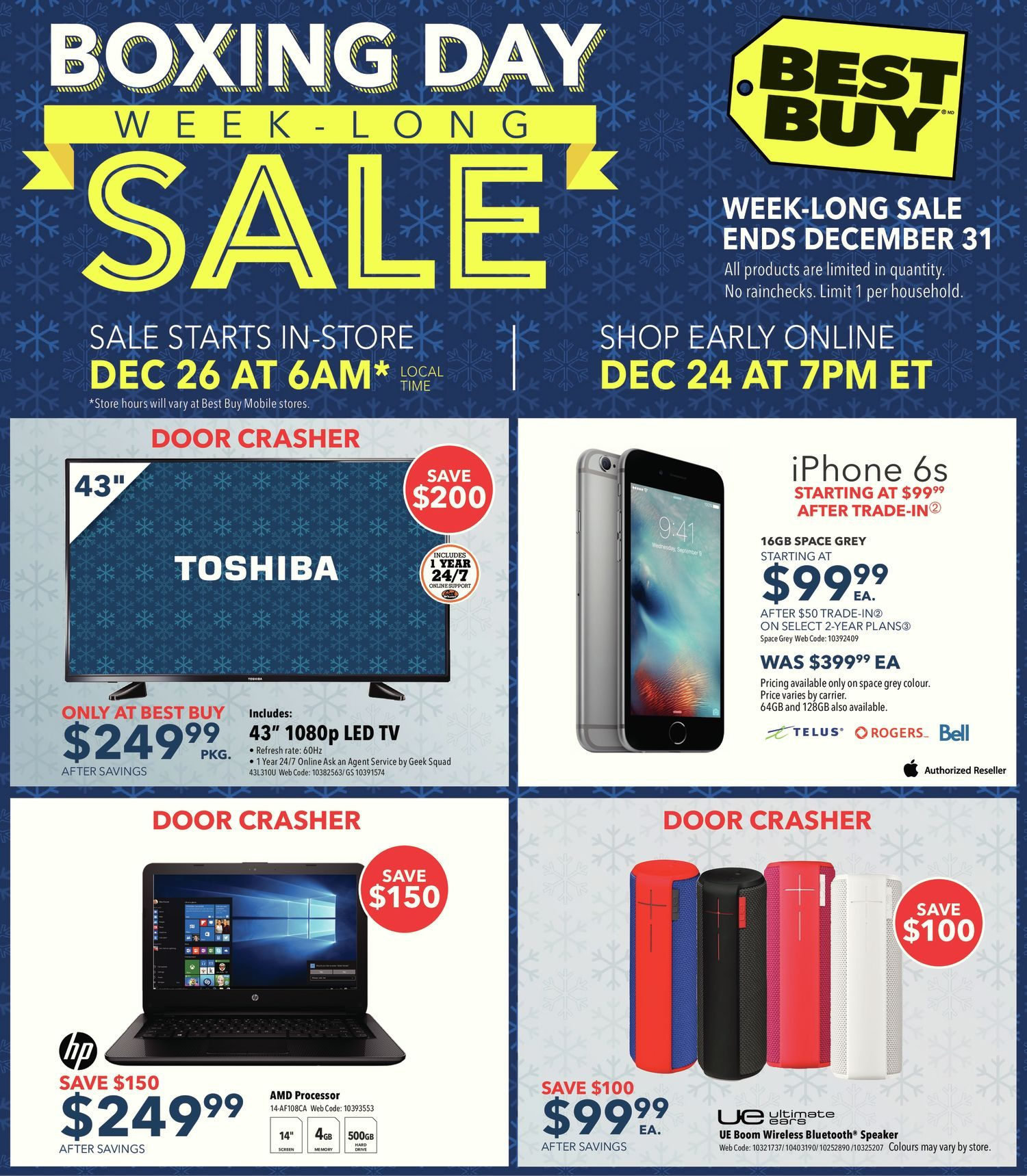 Best Buy Weekly Flyer Boxing Week Long Sale Dec 25 31 Download Image Darlington Pair Amplifier Circuit Pc Android Iphone