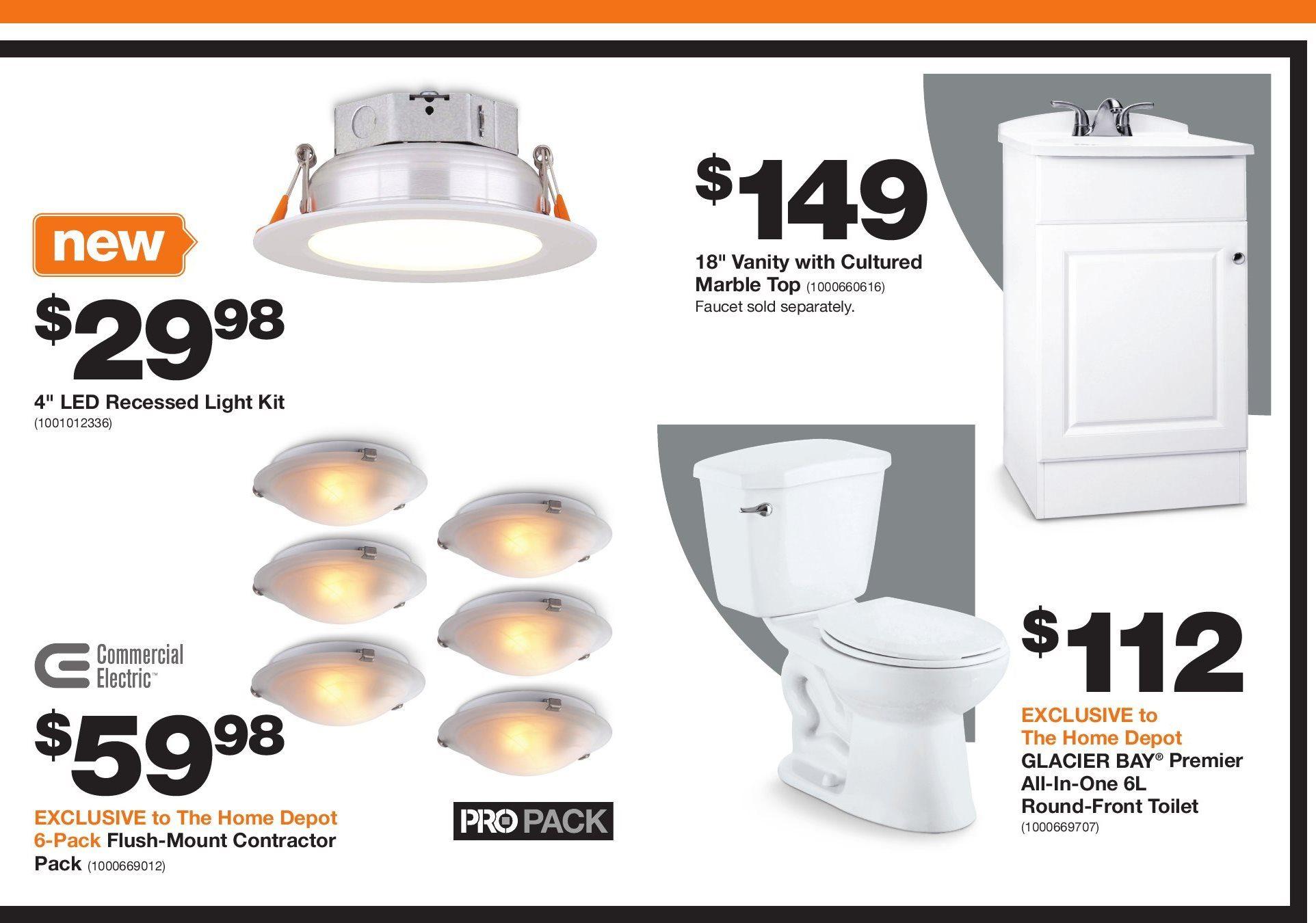 Home Depot Weekly Flyer - Pro Savings - Oct 12 – 17 - RedFlagDeals com