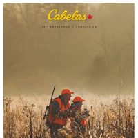 Cabelas - 2017 Fall & Winter Catalogue Flyer