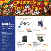 - Weekly Deals - Oktoberfest Tech Sale Flyer