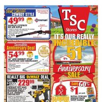 TSC Stores - Weekly - 51st Anniversary Sale Flyer