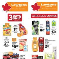 Lawtons Drugs - Weekly - Week-Long Savings Flyer