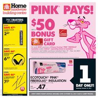 Home Hardware - Building Centre - Pink Pays! Flyer