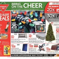 Canadian Tire - Weekly - Bring On The Cheer Flyer