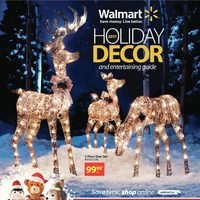 Walmart - 2017 Holiday Decor Flyer