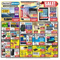 Factory Direct - Weekly - Sale! Flyer
