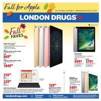 London Drugs - Fall Faves Flyer