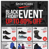 Sport Chek - Black Friday Event Flyer