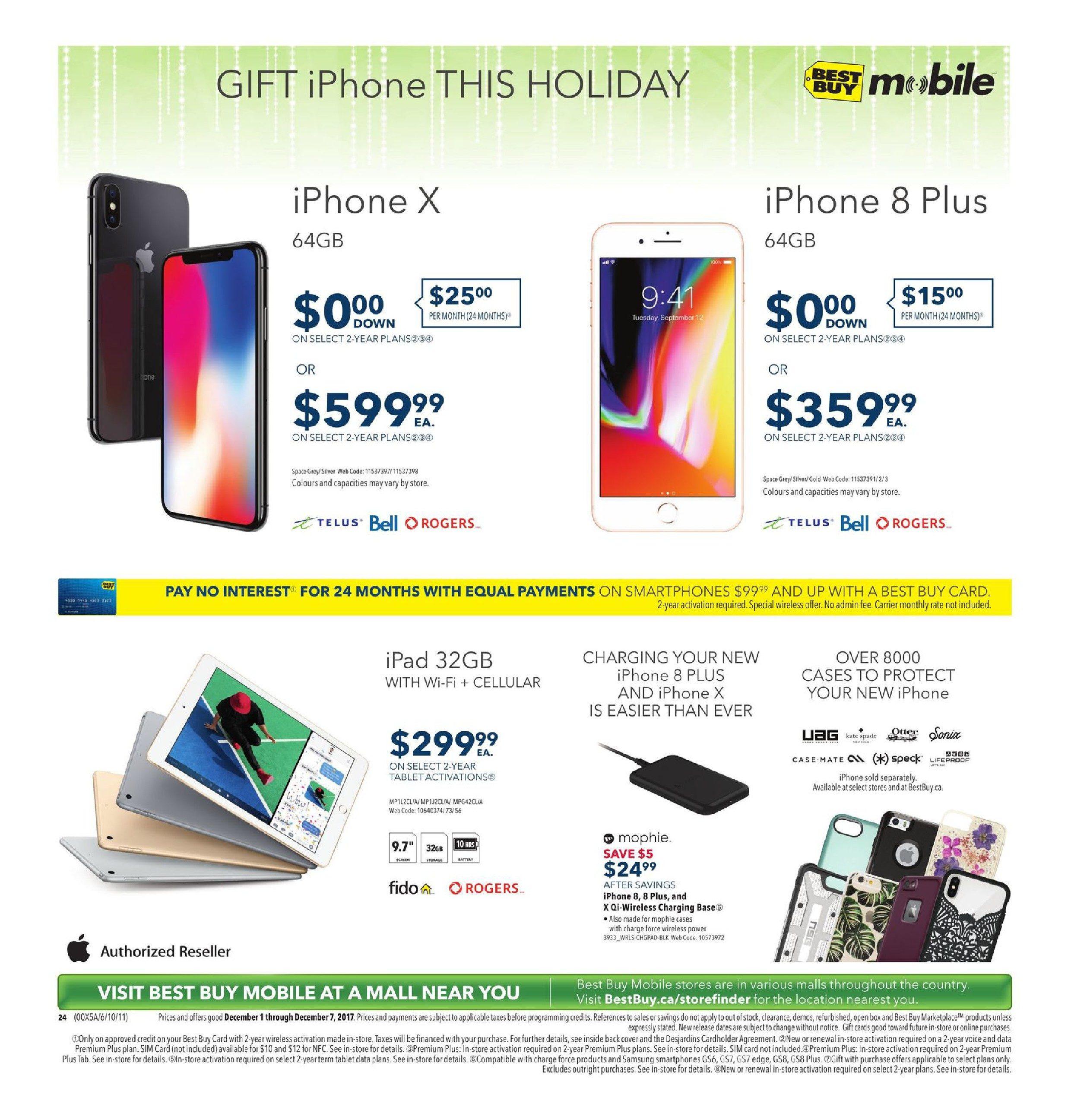 Best Buy Weekly Flyer - Weekly - Find Dazzling Gifts - Dec 1