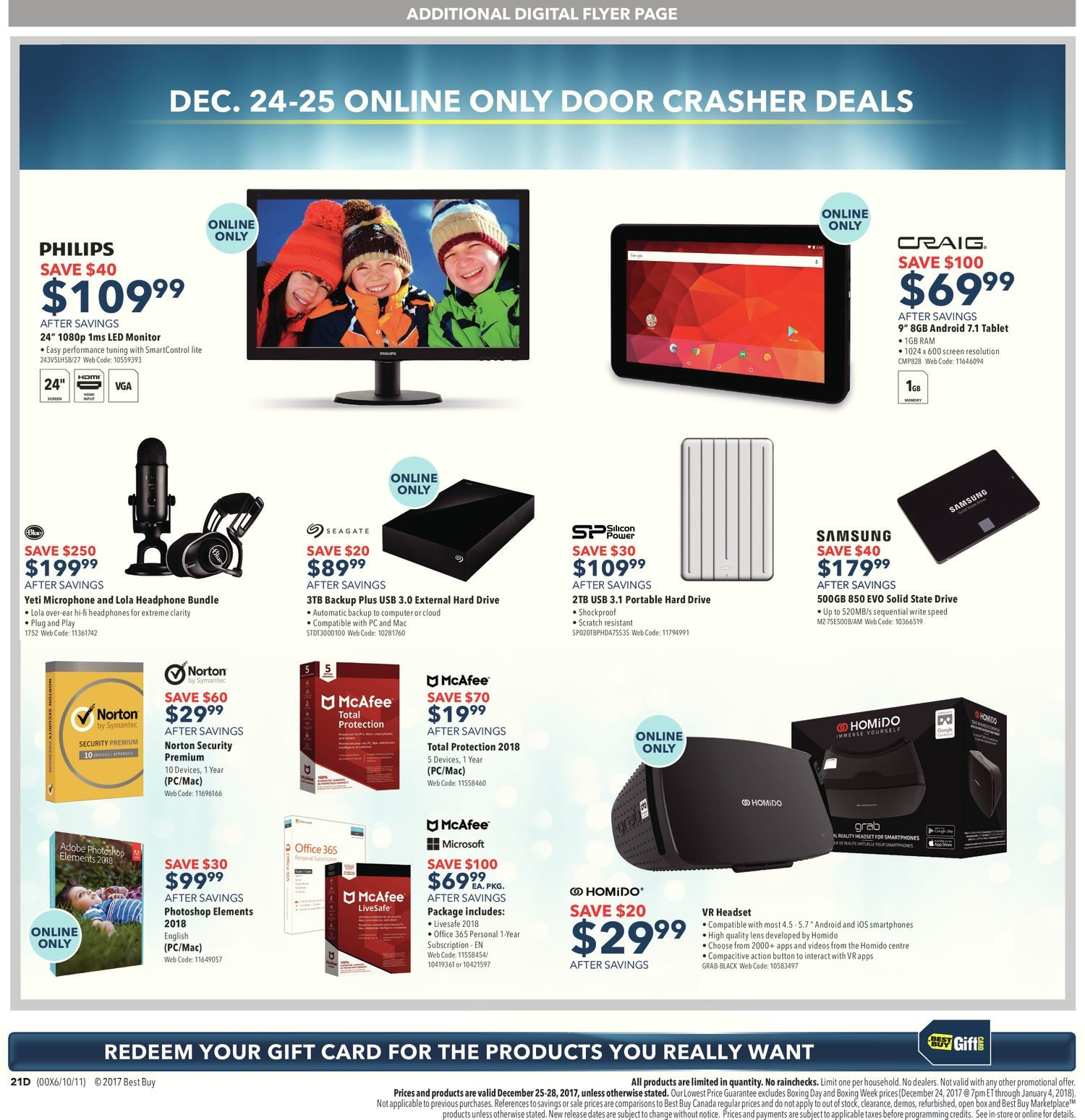 Best Buy Weekly Flyer Boxing Day Sale Dec 25 Wiring Harness
