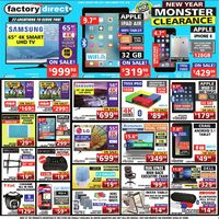 - Weekly - New Year Monster Clearance Flyer