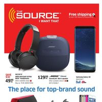 The Source - 2 Weeks of Savings - The Place for Top-Brand Sound Flyer