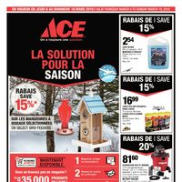 Rona - ACE - Your Helpful Spring Place Flyer