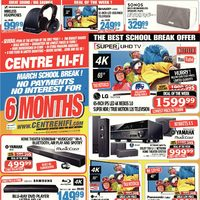 Centre HIFI - Weekly - March School Break! Flyer