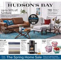 The Bay - Weekly - Final Week for The Spring Home Sale Flyer