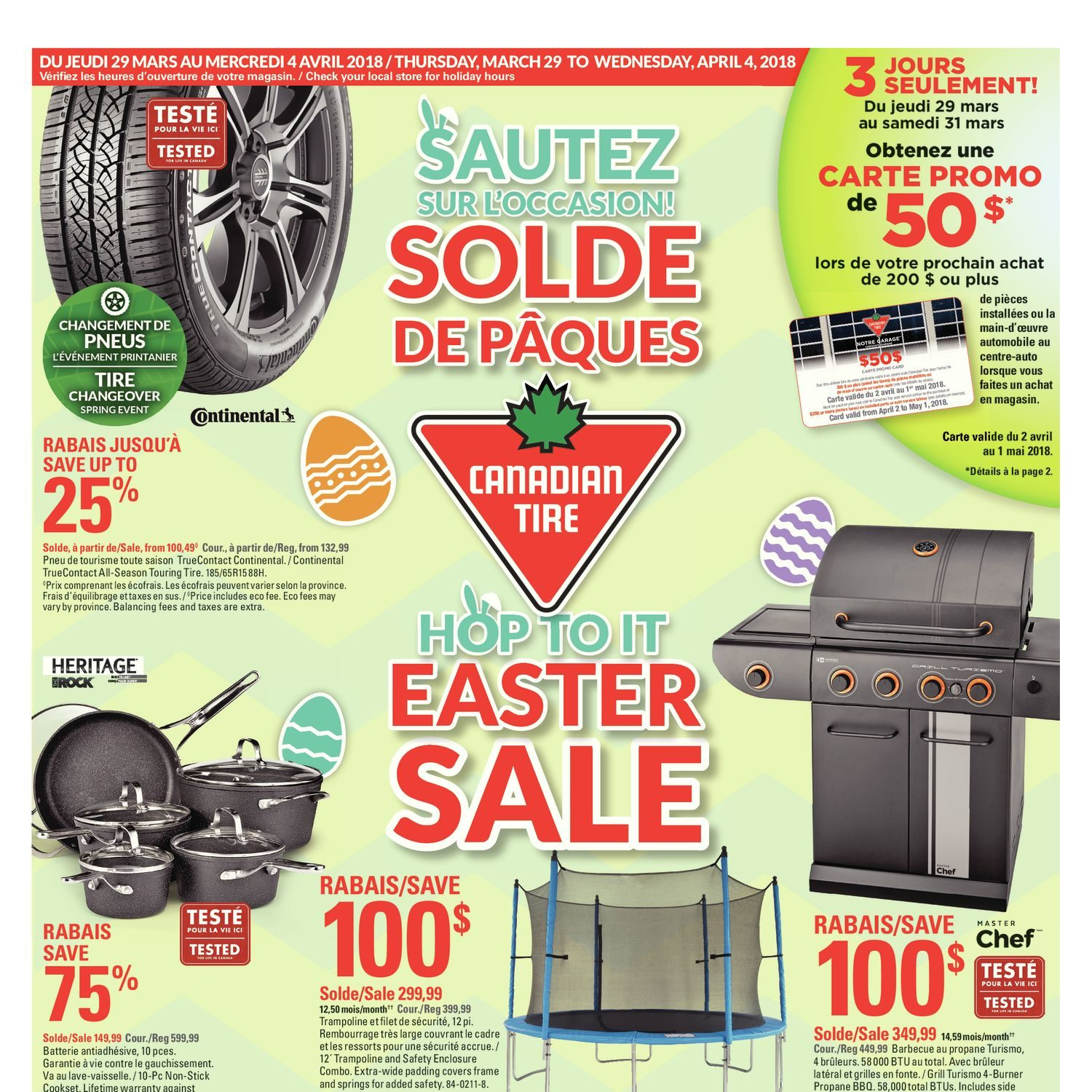 Canadian Tire Weekly Flyer Weekly Hop To It Easter Sale