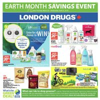 London Drugs - Earth Month Savings Event Flyer
