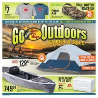 Bass Pro Shops - Go Outdoors Event & Sale! Flyer