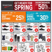 Sport Chek - Get Ready For Spring Flyer
