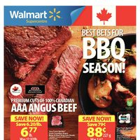 Walmart - Supercentre - Best Bets for BBQ Season! Flyer