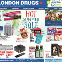 London Drugs - 6 Days of Savings - Hot Summer Sale Flyer