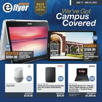 Newegg - Back To School - We've Got Campus Covered Flyer