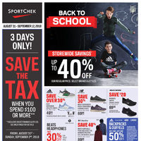 - 2 Weeks of Savings - Back To School Flyer