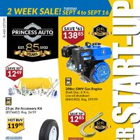 - September Start-Up Sale Flyer