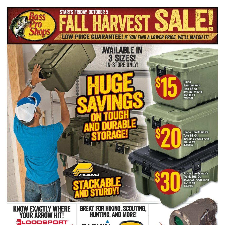 a763126a850 Bass Pro Shops Weekly Flyer - Fall Harvest Sale! - Oct 5 – 21 -  RedFlagDeals.com