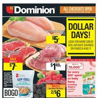 Dominion - Weekly - Dollar Days Flyer