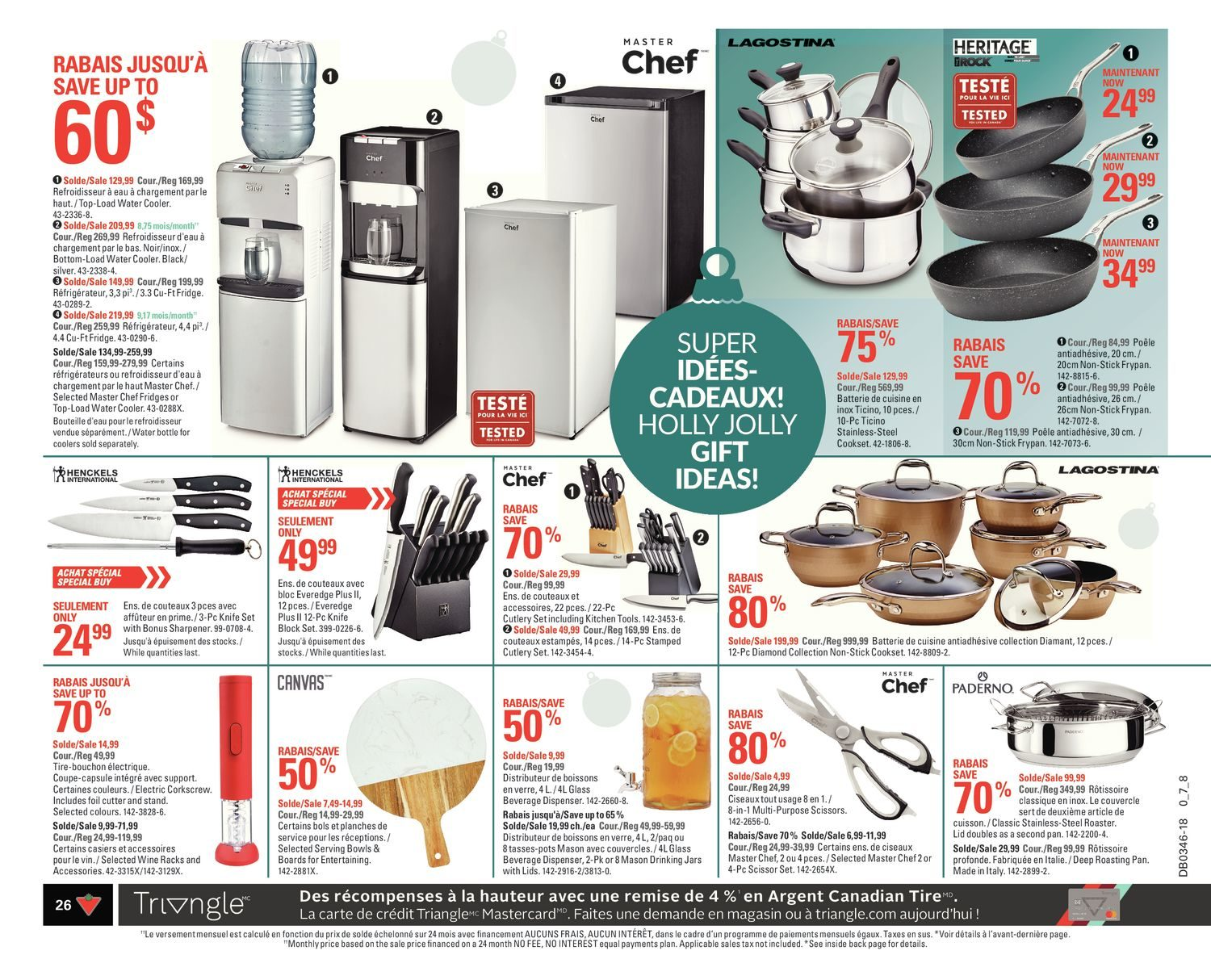 Canadian Tire Weekly Flyer - Weekly - Share The Joy! - Nov 8