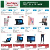 US Black Friday - Costco US - Holiday Savings Book Flyer
