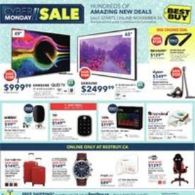 [Best Buy] Cyber Monday Flyer!