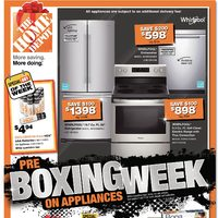 Home Depot - Weekly - Pre Boxing Week on Appliances Flyer