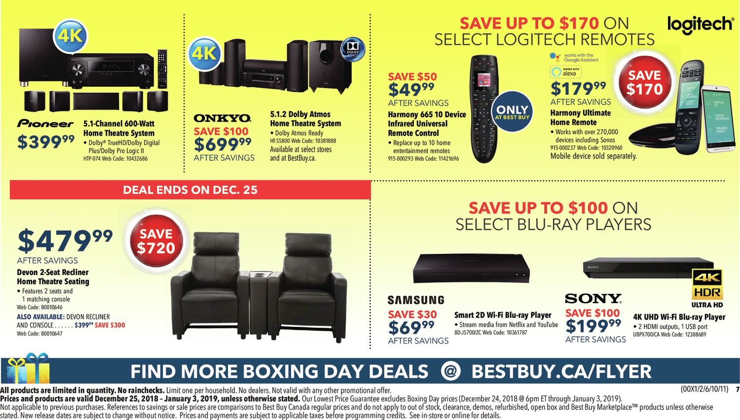 Best Buy Weekly Flyer Boxing Day Sale Dec 25 Jan 3 Electrical Switches Outlets Plugs 1p Ivry Lighted Toggle Switch