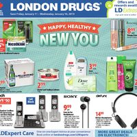 London Drugs - 6 Days of Savings - Happy, Healthy New You Flyer