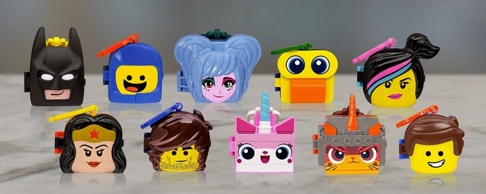 The LEGO Movie 2 Happy Meal Toys Have Arrived At McDonald's Canada (February 2019)