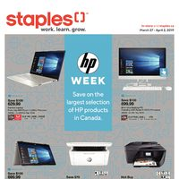 Staples - Weekly - HP Week Flyer