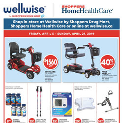 Shoppers Drug Mart - Wellwise - Home Health Care Flyer