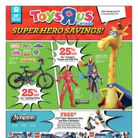 - Super Hero Savings! Flyer