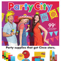 - Party Supplies - Cinco de Mayo Flyer