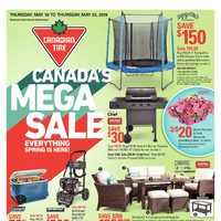 Canadian Tire - 8 Days of Savings - Canada's Mega Sale Flyer