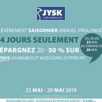 JYSK - Weekly - Annual Summer Living Event Extended Flyer