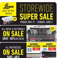 - Part of The Family - Storewide Super Sale Flyer