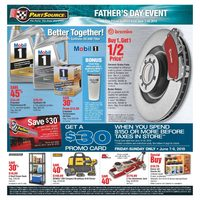 PartSource - Father's Day Event Flyer