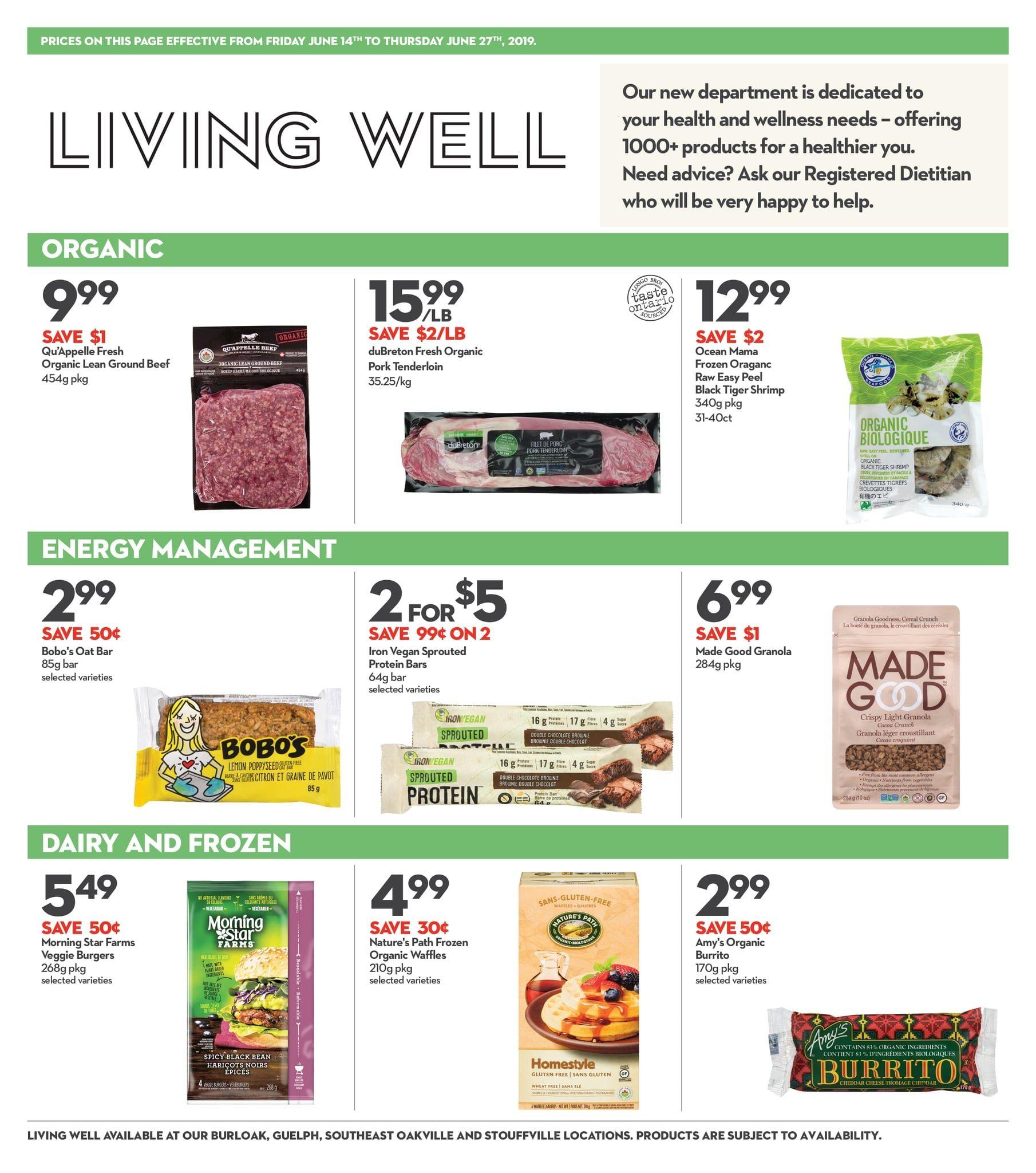 Longos Weekly Flyer - 2 Weeks of Savings - Jun 14 – 27