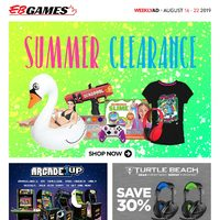 - Weekly - Summer Clearance Flyer