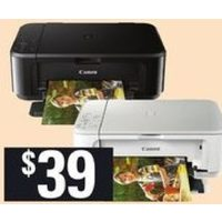 Canon Pixma MG3620 All-in-One Wireless Printer Black or White