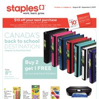 - Weekly - Canada's Back To School Destination Flyer